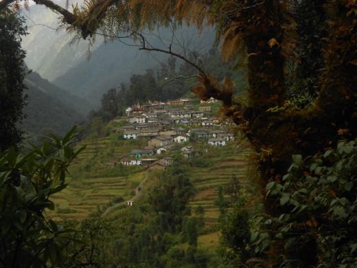 Khati Village, Bhageswar, Uttarakhand.