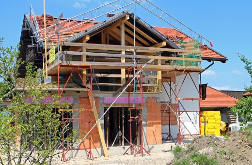 A home renovation project.