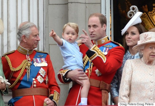 British monarchy. Three future Canadian heads of state.
