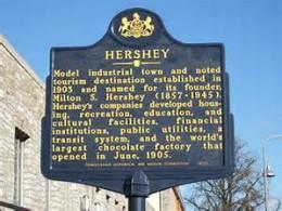 Welcome to Historic Hershey, Pennsylvania