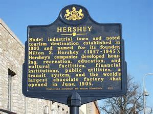 Welcome to Historic Hershey, Pennsylvania