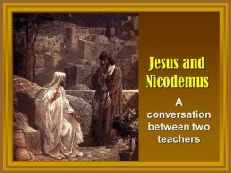 As a Master of Israel, Nicodemus would have been familiar with the pagan beliefs that 'his people' lived among... The salvation story within Christianity would have been VERY familiar to him. I'm not so sure he would have bought it. :)