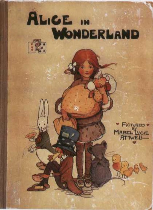 Book Cover of Alice in Wonderland
