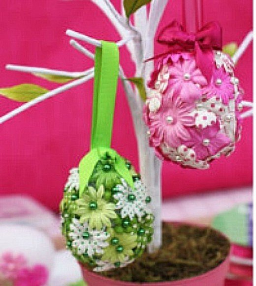 69 simply adorable easter craft ideas feltmagnet for Spring craft ideas for adults