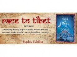 Review of  Sophie Schiller's latest novel: The Race to Tibet