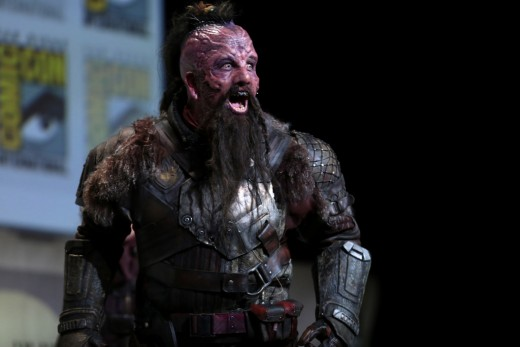 A Ravager to be featured in the upcoming movie, Guardians of the Galaxy, vol. 2.