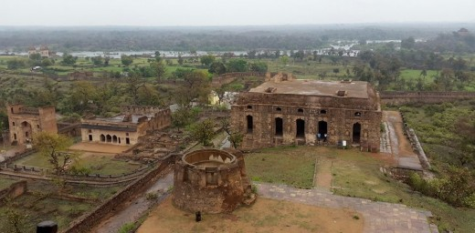 Fort at Orchha in Madhya Pradesh