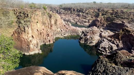 Raneh Falls at Panna Tiger Reserve