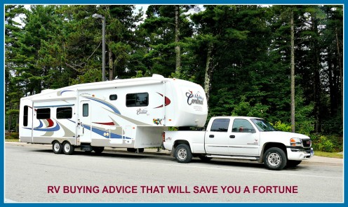 How to buy any RV and save money doing it.