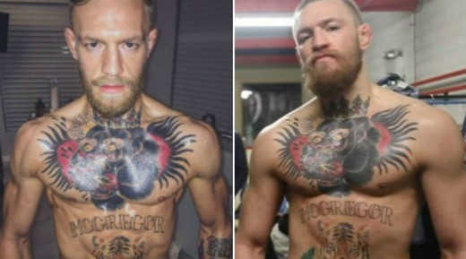 Conor McGregor also made a massive jump in weight for a fight