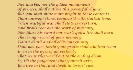 Shakespeare's Sonnet 55