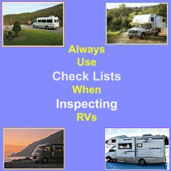 Use These Detailed Check Lists to Help You Inspect RVs