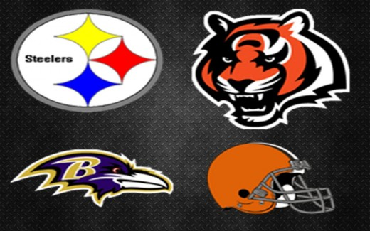 The teams of the AFC North