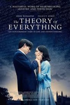 The Theory of Everything is a film about Stephen Hawking's personal and professional life and works. It was released in theaters everywhere in 2014.