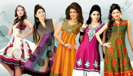 Kurti is a long tunic, which reaches the knees