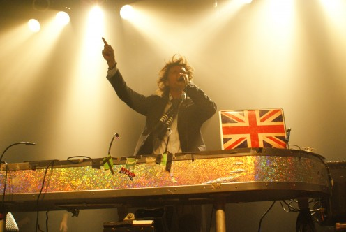 Mark Holmes known to the under 25 crowd as DJ MRK spins at Mark's Mod Club Theatre on College Street in Toronto