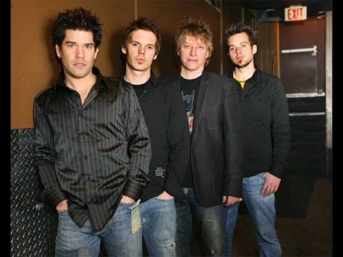 Sergio Galli, second from the left, put out a new side project called The Ending and a new album.
