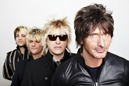 "Platinum Blonde 2012 are Dan Todd, Drums, Robert ""Rob"" Laidlaw, bass, Sergio Galli, guitar, and Mark Holmes vocals."