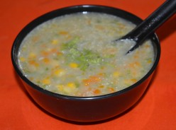 Soup Recipes: Sweet corn with Vegetables Soup