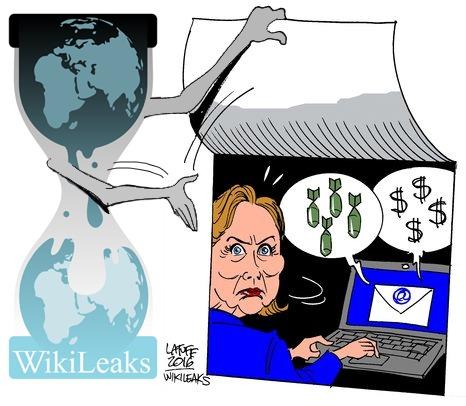 Wikileaks Exposing Hillary Clinton
