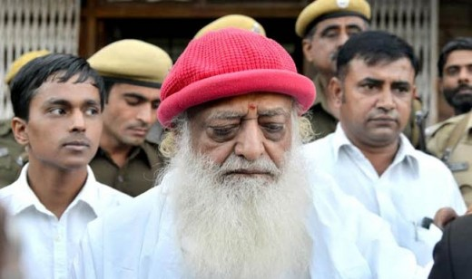 Asaram Bapu-Indian guru worshiped by thousands as god. I've personally seen him. He makes devotees work for his multi-million dollar organization for free, and doesn't even care to build proper tents for them to live in. Forget about private toilets