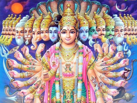 Hindu gods-fallen spirits who inhabit the earth realm because there's no place for them in Heaven. They know that on the Judgment day they will be sent to Hell. They plan to take as many humans along with them as they can through leading them astray.