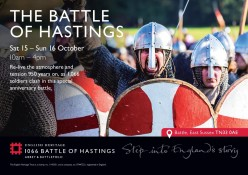 HERITAGE - 37: OCTOBER 14th, 1066 A DAY TO THINK BACK, 951 Years On We Will Still Proudly Mark Harold's Stand