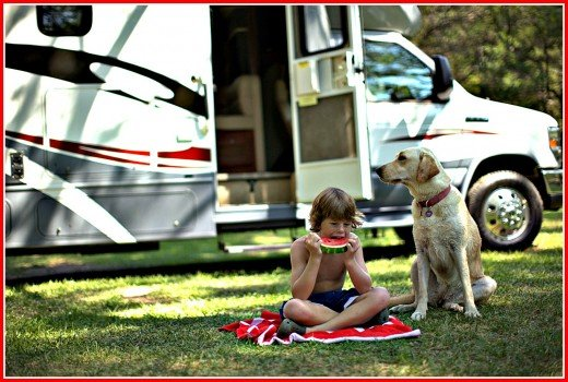 A dry RV is one that the entire family can comfortably enjoy.