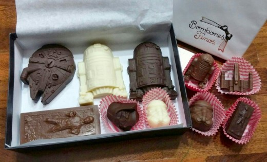 Make a box of cool, geeky chocolates for your Valentine using just a bunch of ice trays.