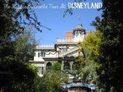 The Happiest Haunts Tour At Disneyland