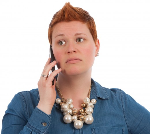 Should Making a Phone Call Really Be Felt in Shoulders?