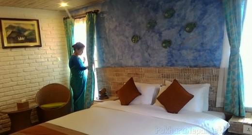 A room in Hotel Glacier & Spa