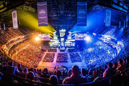 eSports has grown to the point that its events regularly fills large venues.