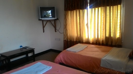 A room in Hotel Plaza Annapurna