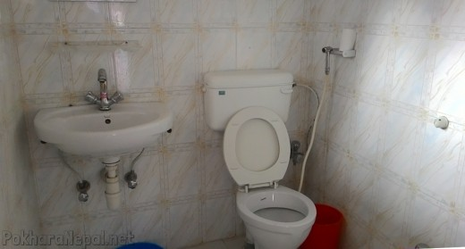 A bathroom in Hotel Harmony