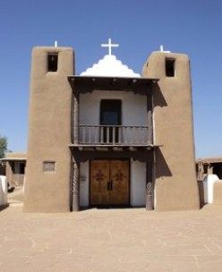 Rebuilt San Geronimo Church, 1850