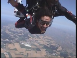 Skydiving my new passion