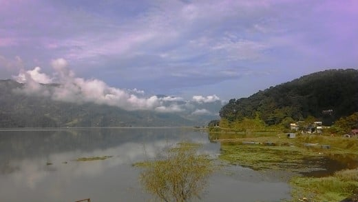 Pokhara Lake in October, 2016