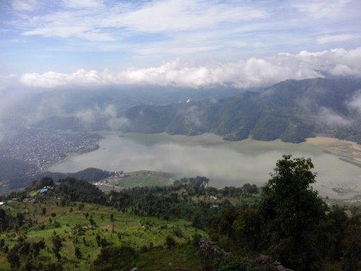 Fewa Lake view from Sarangkot