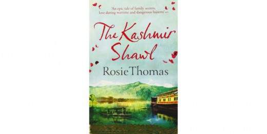 Book cover of The Kashmir Shawl