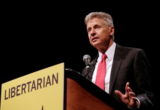 Gary Johnson - 2016 Libertarian Party Candidate for President.