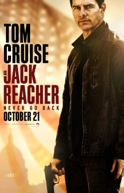 "Movie Review: ""Jack Reacher: Never Go Back"""