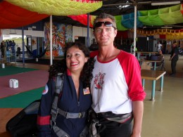 Jhonny, another monitor from the Royan Skydiving shool