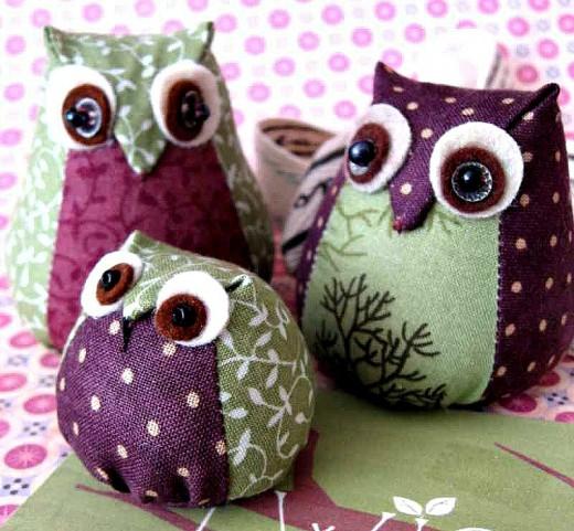 Stuffie Owls