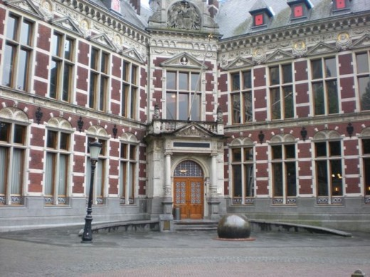 Utrecht University - one of the best universities in Europe.