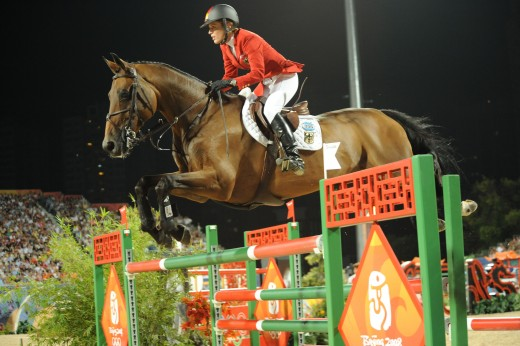 Meredith Michaels-Beerbaum and Shutterfly at the  Beijing Olympic Games.