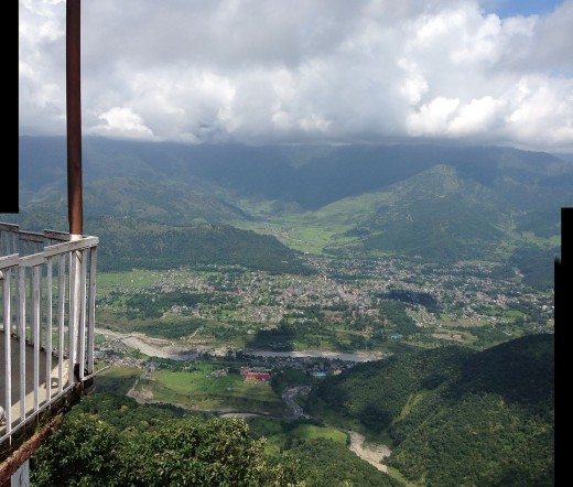 Pokhara view in September, 2014