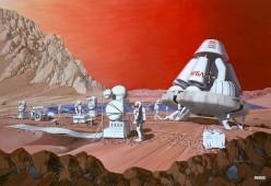 Mars Human Colonization, Marsquakes and Volcanoes
