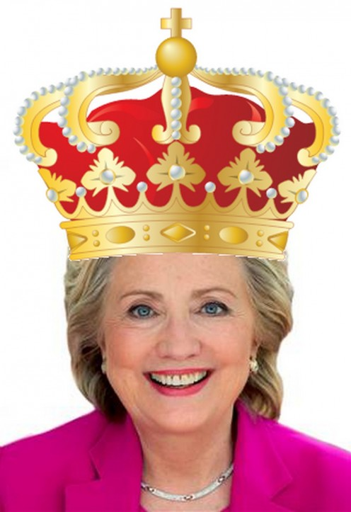 Her Heinous Highness Hillary I, Queen of Tarts