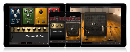 Amp simulators give the ability to carry many different rigs with you in the palm of your hand.